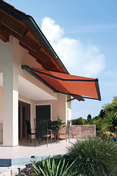 Terrassenüberdachung Markise nachrüsten - Rollobox